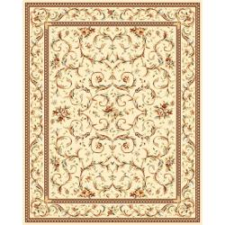 Safavieh Lyndhurst Collection Traditional Ivory/ Ivory Rug (9' x 12')