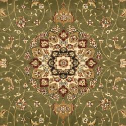 Lyndhurst Collection Sage/ Ivory Rug (9' x 12')