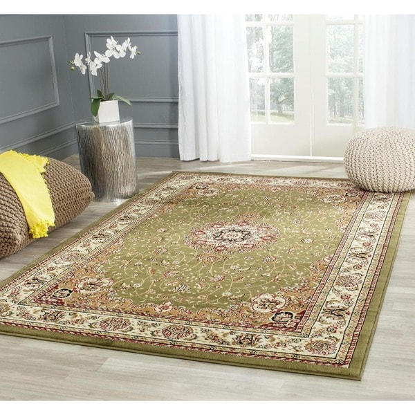 Safavieh Lyndhurst Collection Sage/ Ivory Rug (9' x 12')