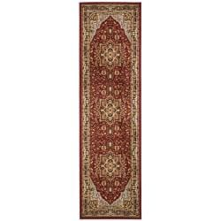 Lyndhurst Collection Red/ Black Runner (2'3 x 14')