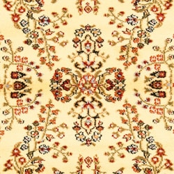 Safavieh Lyndhurst Collection Ivory/ Rust Rug (9' x 12')