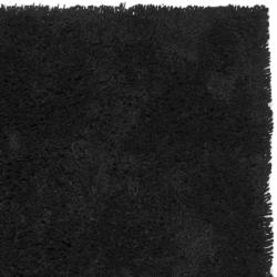Safavieh Classic Ultra Handmade Black Shag Rug (9'6 x 13'6)