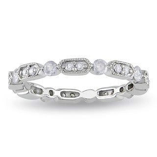 10k White Gold 1/2ct TDW Diamond Wedding Band (G-H, I2-I3)