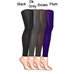 Muk Luks Women's 'Izabella' Microfiber Footless Tights