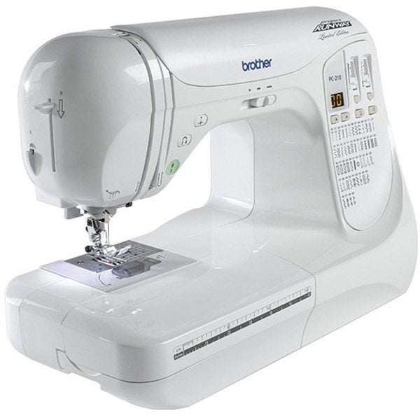 Brother Project Runway Computerized PC210PRW Limited Edition Sewing Machine 7247171