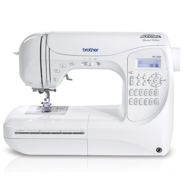 Brother PC420PRW Project Runway Limited Edition Computerized Sewing Machine 7247172