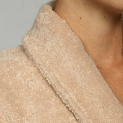 Unisex Turkish Organic Cotton Terry Bath Robe - Au Natural