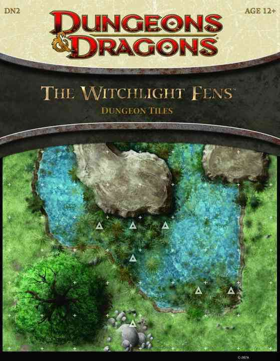 The Witchlight Fens Dungeon Tiles (Hardcover)