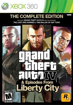 Xbox 360 - Grand Theft Auto IV: The Complete Edition