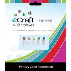 Craftwell eCraft 'Basic Collection' 5-pc Pen Pack