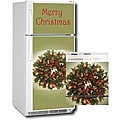 Appliance Art Holiday Wreath Combo Refrigerator/ Dishwasher Covers