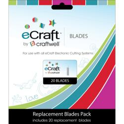 Craftwell eCraft Replacement Blades (Pack of 20)