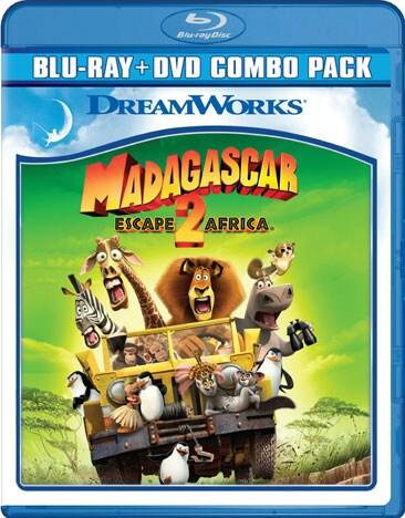 Madagascar: Escape 2 Africa (Blu-ray/DVD)