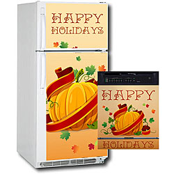 Appliance Art Holidays Pumpkin Combo Refrigerator/ Dishwasher Cover