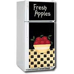 Appliance Art Apple Bowl Refrigerator Cover