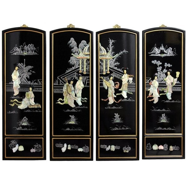 Mother of Pearl Ladies Wall Plaques (China)