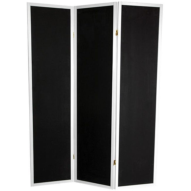 Wooden 6-foot 3-panel Chalkboard Room Divider (China)