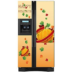 Appliance Art 'Holidays Pumpkin' Refrigerator Cover