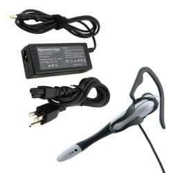 INSTEN Travel Charger/ Multi-purpose Headset for HP Pavilion/ Compaq Presario