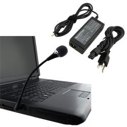 Travel Charger/ Mini Flexible Microphone for HP Pavilion/ Compaq