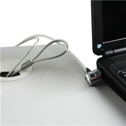 INSTEN Travel Charger/ Laptop Security Cable Lock for HP Pavilion/ Compaq