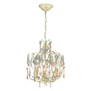 Ella 3-light Champagne/ Crystal Chandelier
