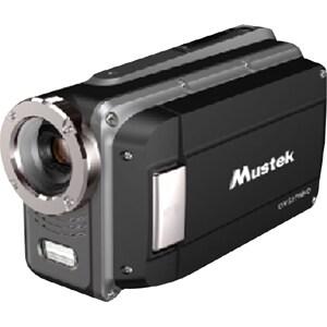 """Mustek HDV527W Digital Camcorder - 2.7"""" LCD - CMOS - HD - Black"""