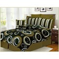 Torino Eight-Piece Polyester Comforter Set