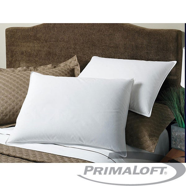 Hypoallergenic 300 Thread Count Cotton Primaloft Pillows (Set of 2) (As Is Item)