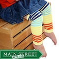 Headbandz Fun Stripes Baby Leg Warmers