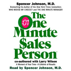 One Minute Salesperson (CD-Audio)