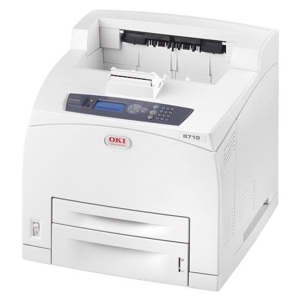 Oki B700 B710N LED Printer - Monochrome - 1200 x 1200 dpi Print - Pla