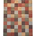 Indo Hand-tufted Multi-color Wool Rug (8' x 10')