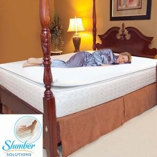 Slumber Solutions 1-inch Memory Foam Mattress Topper