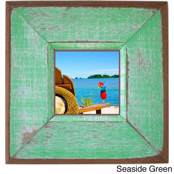 Boat Wood Aurora Square Picture Frame (Thailand)