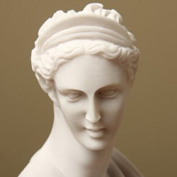 White Bonded Marble Diana Classical Bust