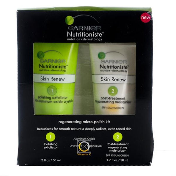 Garnier Nutritioniste Regenerating Micro-Polish Kit (Pack of 4)