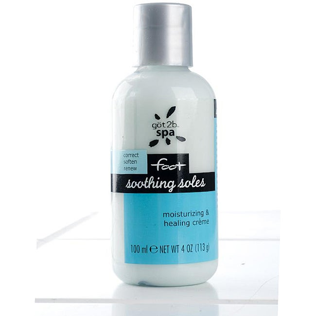 Got2b Spa Soles Moistuizing and Healing 4-ounce Foot Creme (Pack of 4) at Sears.com