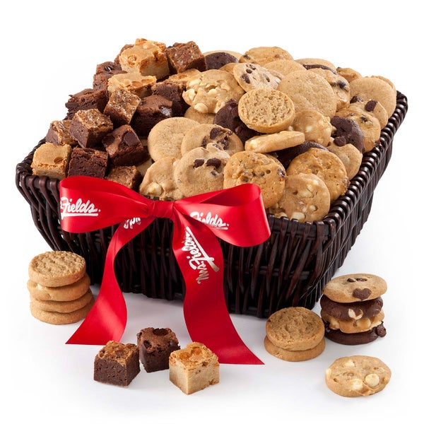 Mrs. Fields 'Delights by the Dozens' Cookie/Brownie Gourmet Gift Basket