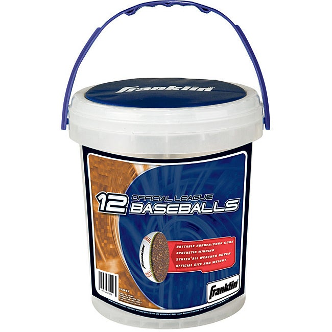 Official League Baseballs (Pack of 12)