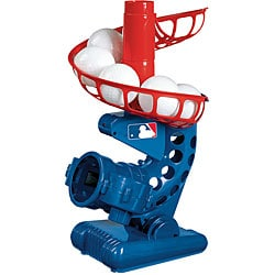 Franklin MLB Plastic Pitching Machine with Eight Plastic Baseballs