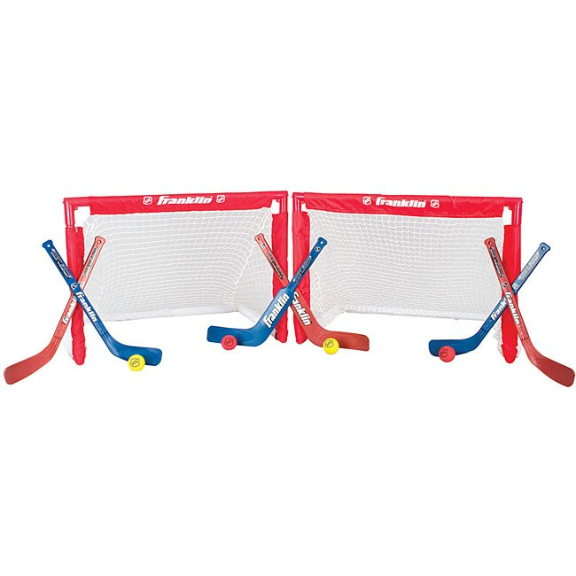 NHL Mini Hockey Folding Goal/ Stick/ Ball Insta-Set