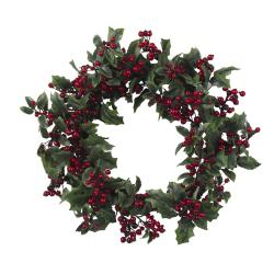 Holly Berry 24-inch Wreath