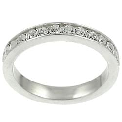 Tressa Collection Round CZ Bridal & Engagement Eternity Ring