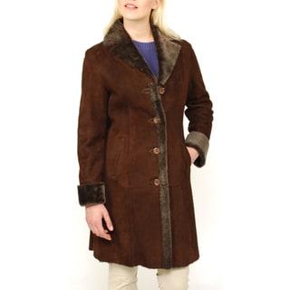 Lana Rafinatta's Women's Spanish Merino Shearling Coat