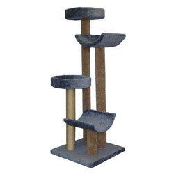 Molly And Friends 5 5 Foot Step Stool Sleeper Cat Tree