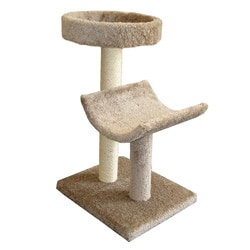 Molly and Friends 3-foot Simple Sleeper Cat Furniture
