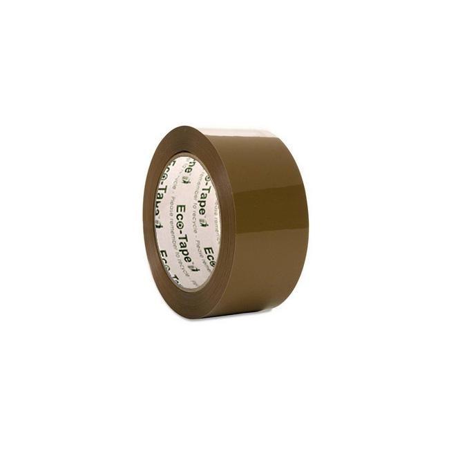 Tan Three-inch Polypropylene Packing Tape (Pack of