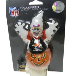 Cincinnati Bengals Halloween Ghost Night Light