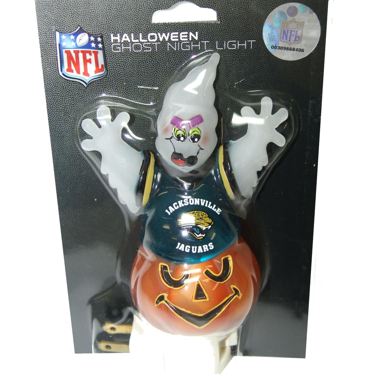 Jacksonville Jaguars Halloween Ghost Night Light
